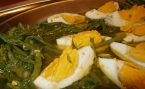 Divlje šparoge na salatu